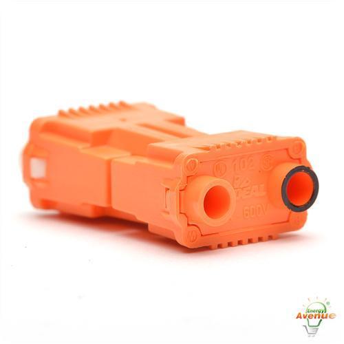 Ideal 30 352j Ballast Disconnect Power Plug Orange 2 Port